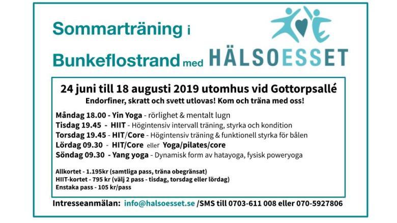HälsoESSet Sommar 2019 (juni)